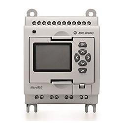 Control PLC para control de actuadores. Otros controles son también posibles.